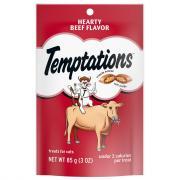 Temptations Hearty Beef Cat Treats