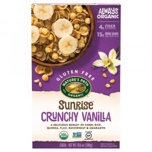 Nature's Path Organic Crunchy Vanilla Sunrise Cereal