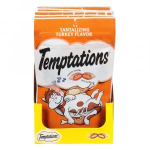 Whiskas Temptations Turkey Flavor Cat Treats
