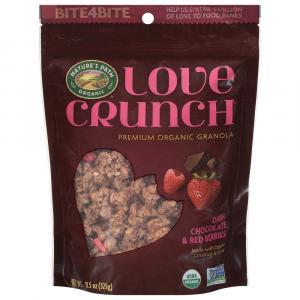 Love Crunch Organic Dark Chocolate & Red Berries Granola