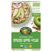 Nature's Path Organic Spiced Apple + Flax Oatmeal
