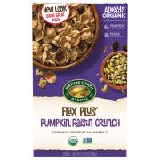 Nature's Path Organic Flax Plus Pumpkin Raisin Crunch Cereal