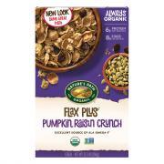 Nature's Path Organic Flax Plus Pumpkin Raisin Crunch Cereal