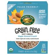 Nature's Path Organic Maple Almond Crunch Hot Cereal