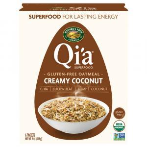 Nature's Path Qi'a Gluten Free Creamy Coconut Oatmeal