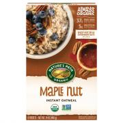 Nature's Path Organic Maple Nut Instant Oatmeal