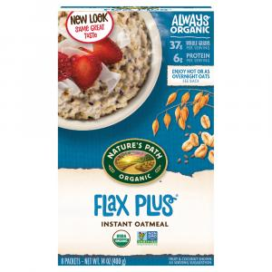 Nature's Path Organic Flax Plus Instant Oatmeal