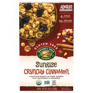 Nature's Path Organic Gluten Free Sunrise Crunchy Cinnamon