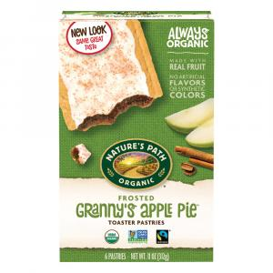 Nature's Path Organic Frosted Applecinnamon Toaster Pastries