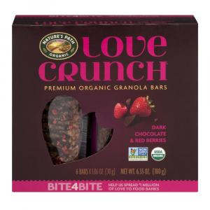 Nature's Path Love Crunch Premium Organic Granola Bars