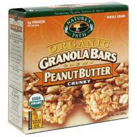 Nature's Path Organic Peanut Butter Granola Bars