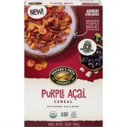 Nature's Path Organic Purple Bam! Cereal
