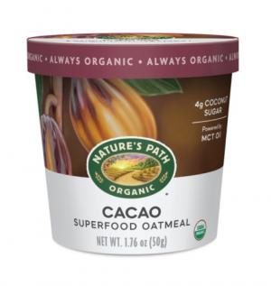 Nature's Path Organic Cacao Superfood Oatmeal Cup