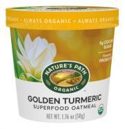 Nature's Path Organic Golden Turmeric Oatmeal Cup