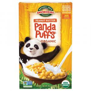 Nature's Path Organic Enviro-Kids Peanut Butter Panda Puffs