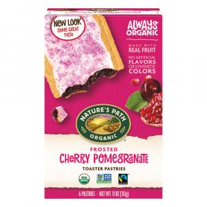 Nature's Path Organic Cherry Pomegranate Toaster Pastries