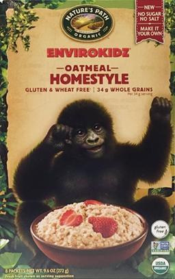 Nature's Path Organic Gluten Free Homestyle Oatmeal