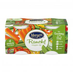 Marzetti Ranch Dip For One - 4-pack