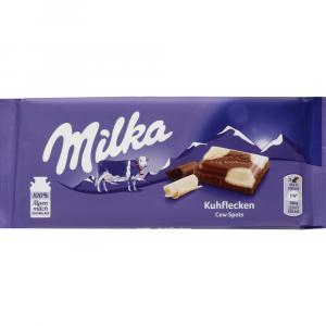 Milka Kuhflecken Milk Chocolate And White Chocolate