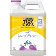 Tidy Cat LightWeight Glade Tough Odor Solution Clean Blossom