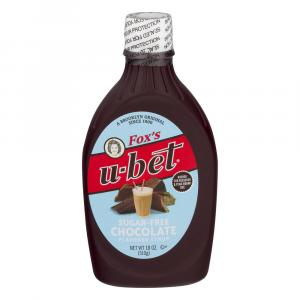 Fox's Original Sugar Free Chocolate Syrup