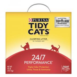 Tidy Cats 24/7 Performance Odor Control Cat Litter Box