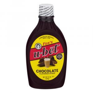 Fox's U-Bet Original Chocolate Syrup