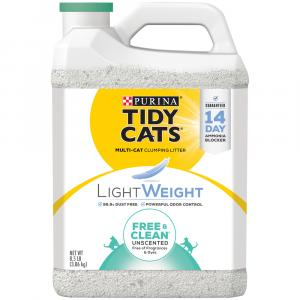Tidy Cats Light Weight Free Clean Unscented Clumping Litter