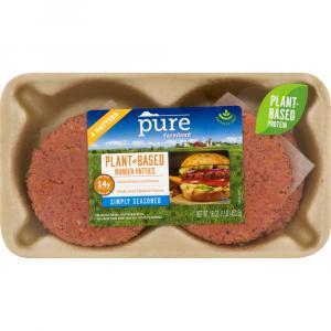 Pure Farmland Simply Seasoned Burger