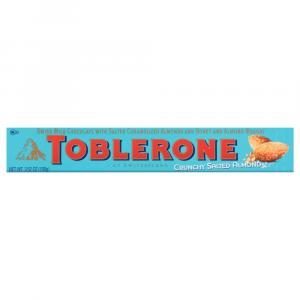 Toblerone Crunchy Salted Almond Milk Chocolate Bar