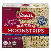 Streit's Onion & Poppy Moonstrips Matzos