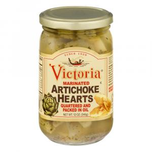Victoria Marinated Artichoke Hearts