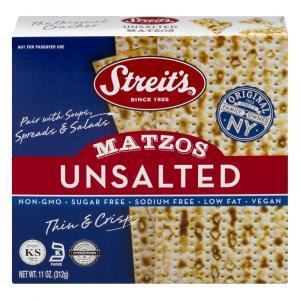 Streit's Unsalted Matzos