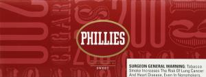 Phillies Filteres Tipped Sweet 100 Cigars