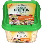 Athenos Mediterranean Herb Crumbled Feta Cheese