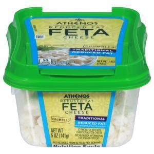 Atheno Reduced Fat Feta Cheese Crumbles