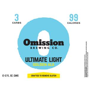 Omission Brewing Co. Ultimate Light Golden Ale