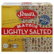 Streit's Lightly Salted Matzos