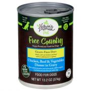 Nature's Promise Free Country Chicken & Beef Dog Food