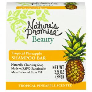 Nature's Promise Beauty Tropical Pineapple Shampoo Bar