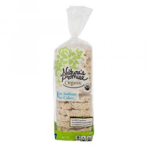 Nature's Promise Organic Low Sodium Rice Cakes