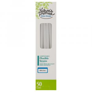 Nature's Promise Compostable Flexible Straws