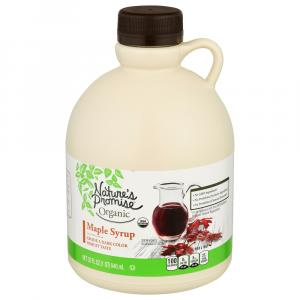 Nature's Promise Organic Maple Syrup