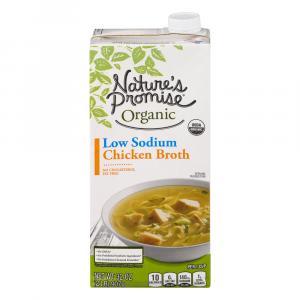 Nature's Promise Organic Low Sodium Chicken Broth