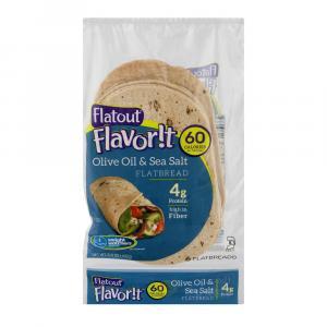 Flatout Flavor!t Olive Oil & Sea Salt Flatbread