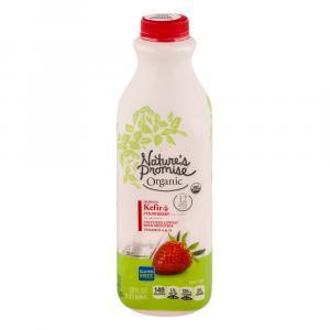 Nature's Promise Organic Kefir Strawberry