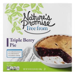 Nature's Promise Triple Berry Pie