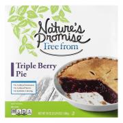 Nature's Promise Triple Berry Pie