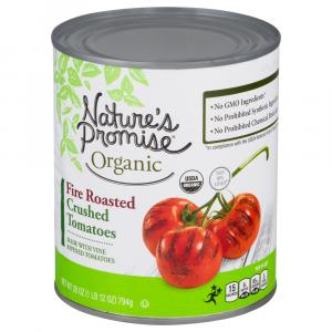 Nature's Promise Organic Fire Roasted Crushed Tomatoes