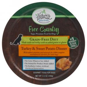 Nature's Promise Free Country Turkey & Sweet Potato Dinner